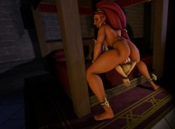 Rule 34   1boy, 1girl, 3d, animated, ass, back, bed, blonde hair, bouncing testicles, bound, dark skin, dark skinned female, deepthroat, earrings, futa with male, futanari, hands tied, hoop earrings, irrumatio, jewelry, large testicles, link, lying, newhalf, nintendo, oral, pointy ears, restrained, size difference, spread legs, standing, succuboipakk, tagme, testicles, testicles on face, the legend of zelda, the legend of zelda: breath of the wild, thick thighs, thighs, throat swabbing, thrusting, tied up, toned, upside-down, upside-down fellatio, urbosa, video