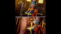 Rule 34   1boy, 1girl, 20s, 2koma, 3d, alternate eye color, alternate hair color, animated, aqua hair, artist name, before and after, blender (medium), blue hair, blue tabard, bodysuit, bodysuit under clothes, border, bouquetman, breast squeeze, breasts, church, clothed female nude male, comic, cosplay, cross, dead or alive, dead or alive 6, deepthroat, dragon quest, dragon quest iii, english text, erection, fellatio, gloves, hand on breast, hands on another's head, hat, heart, hetero, highres, holding, holding staff, indoors, large breasts, logo, long hair, looking at viewer, loop, moaning, nude, oral, orange bodysuit, patreon logo, patreon username, pillarboxed, pov, pov eye contact, priest (dq3), priest (dq3) (cosplay), red eyes, sayuri (doa), sitting, skin tight, slurping, split screen, square enix, squeezing, staff, standing, sucking, tabard, talking, tecmo, testicles, text focus, twitter logo, twitter username, uncensored, video, video with sound, watermark, web address, webm, yellow gloves, yellow trim