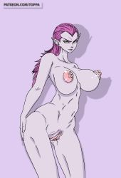 Rule 34   ass, big-breasts, breasts, cocotte, cocotte (dragon ball), dbz, dragon ball, dragonball z, highres, huge ass, huge breasts, huge nipples, large breasts, legs, nipples, nude, purple hair, pussy