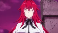 Rule 34 | animated, areolae, blush, bounce, bouncing breasts, bra, breast poke, breasts, edited, english, female, female focus, high school dxd, high school dxd hero, highres, huge breasts, hyoudou issei, large breasts, long hair, multiple girls, music, nipples, outdoors, passione (company), poking, red hair, rias gremory, screencap, smile, solo focus, tagme, third-party edit, underwear, undressing, very long hair, video, video with sound, webm