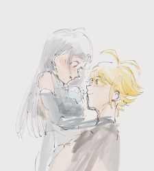 1boy, 1girl, elizabeth liones, meliodas, nanatsu no taizai