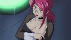 Rule 34 | 00s, 1girl, animated, animated gif, answering, aoi kiriko, bangs, between breasts, black dress, bounce, bouncing breasts, breasts, cellphone, choker, cleavage, cleavage reach, collarbone, dress, earrings, edited, female focus, flip phone, frilled dress, frills, glasses, green eyes, holding, holding phone, indoors, jewelry, jiggle, large breasts, light, lipstick, long hair, long sleeves, loop, makeup, milf, phone, pink hair, ponytail, reaching, red hair, red lips, reversed, sheer clothes, sheer dress, shinkon gattai godannar!!, sidelocks, solo, standing, third-party edit