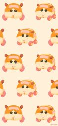 absurdres, animal, black eyes, facing viewer, fur, guinea pig, highres, molcar, monochrome background, multiple views, no humans, open mouth, potato (pui pui molcar), pui pui molcar, rizu (rizunm), sparkling eyes, wheel